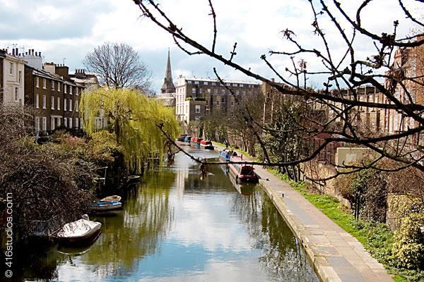 Camden canal London