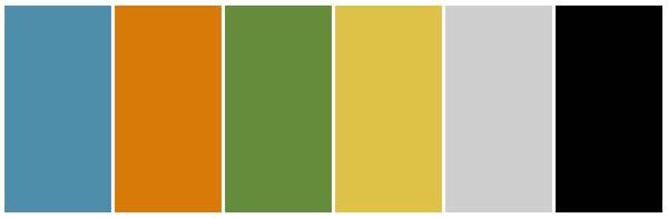 four season colour theme