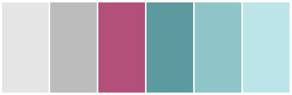 Some of Our Favourite Colour Palettes - 416 Studios