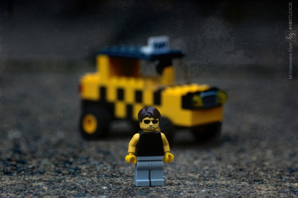 Taxi Driver movie Robert De Niro Martin Scorsese Lego yellow cab NY taxi