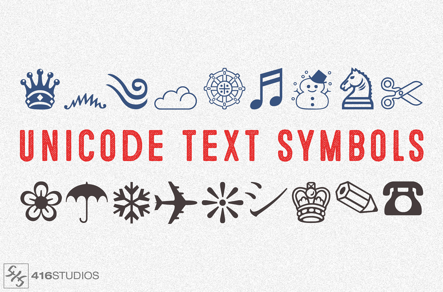 Unicode Text Symbols To Copy And Paste 416 Studios
