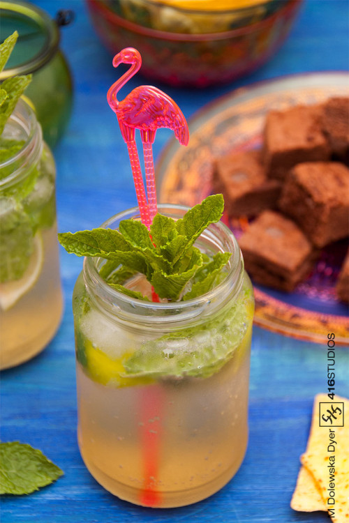 commercial photography drink mojito