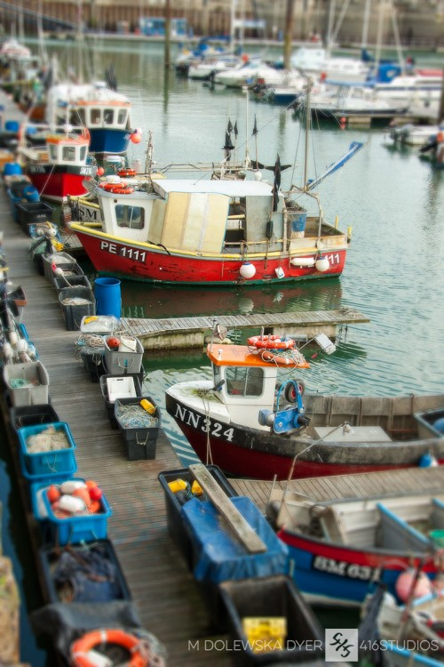 fishing boats in Brighton Marina