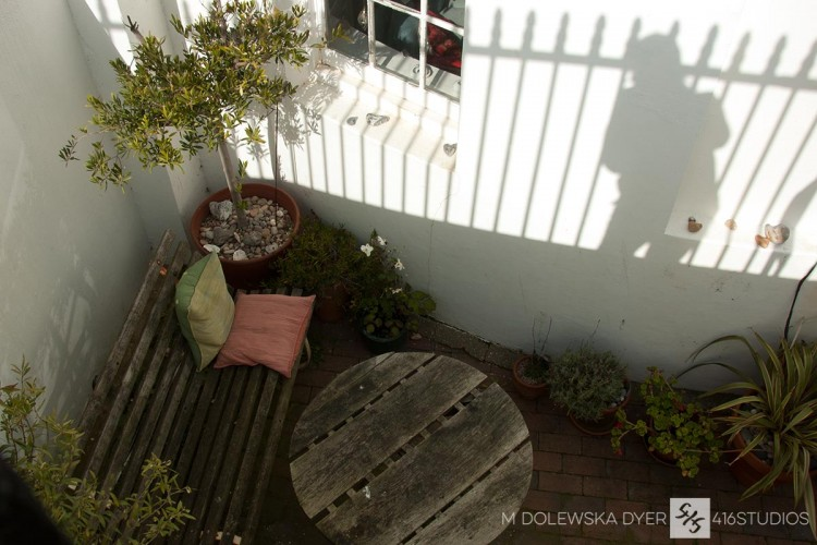 garden shadow basement flat Brighton